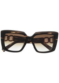 Balmain La Royale square-frame sunglasses