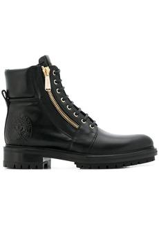 Balmain lace-up biker boots