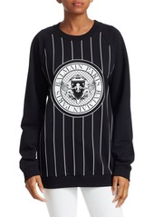 Balmain Logo Baseball Coin Sweater
