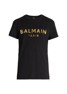 Balmain Logo Cotton T-Shirt