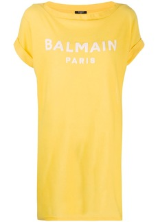 Balmain logo oversized T-shirt