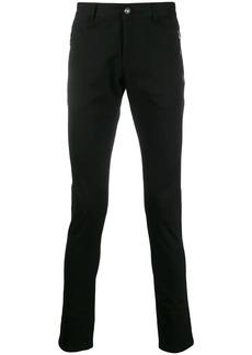 Balmain logo patch skinny trousers