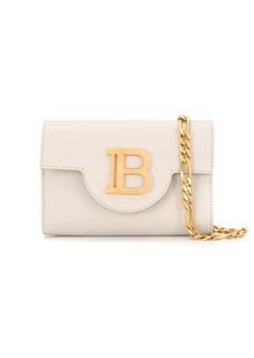 Balmain logo plaque crossbody bag