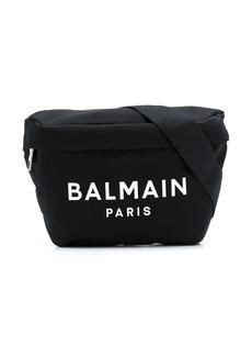 Balmain logo print belt bag
