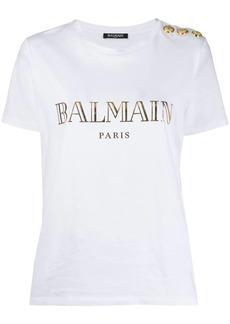 Balmain logo printed T-shirt