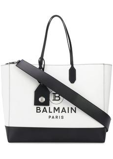 Balmain logo shopping tote