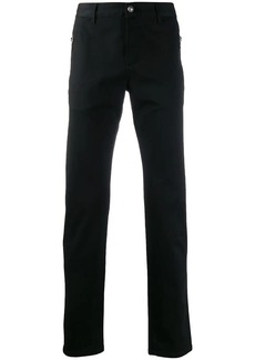 Balmain logo straight-leg trousers