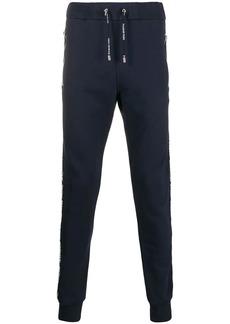 Balmain logo strap track trousers