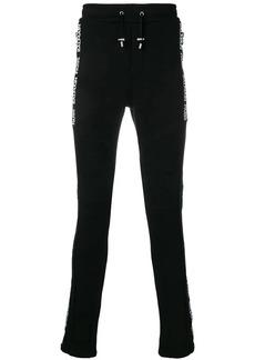 Balmain logo side stripe track pants