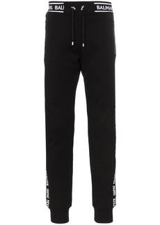 Balmain logo stripe track trousers