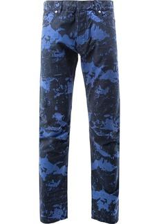 Balmain Marble print jeans
