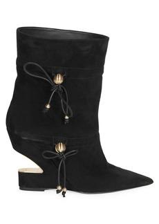 Balmain Maya Suede Boots