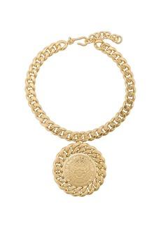 Balmain medallion chain necklace
