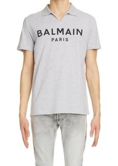 Men's Balmain Logo Polo