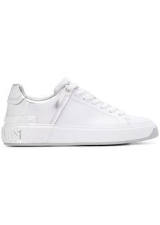Balmain metallic heel sneakers