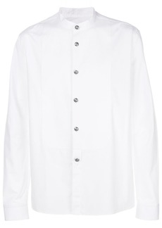 Balmain mock neck shirt