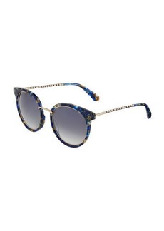 Balmain Modified Cat-Eye Sunglasses