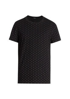 Balmain Monogram Flock T-Shirt