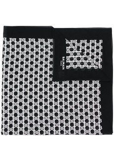 Balmain monogram scarf