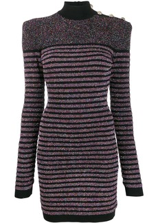 Balmain multicoloured knitted dress