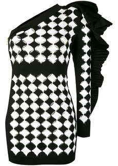 Balmain one sleeve dress