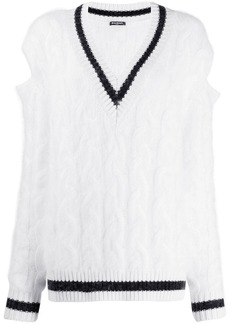 Balmain oversized cricket jumper