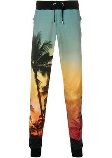 Balmain Palm Tree tracking trousers