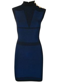 Balmain panelled mini dress