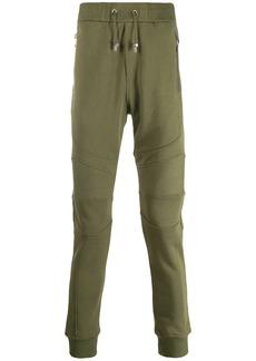 Balmain panelled track pants