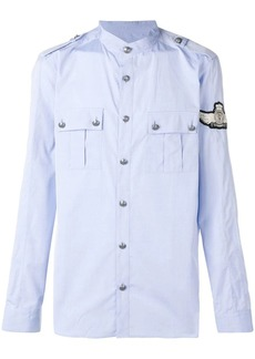 Balmain patch button down shirt