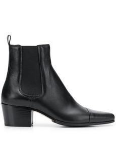 Balmain pointed toe boots