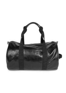 Balmain Polochon Weekender Leather Duffle