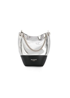 Balmain Polygon bucket bag