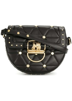 Balmain quilted studded shoulder bag