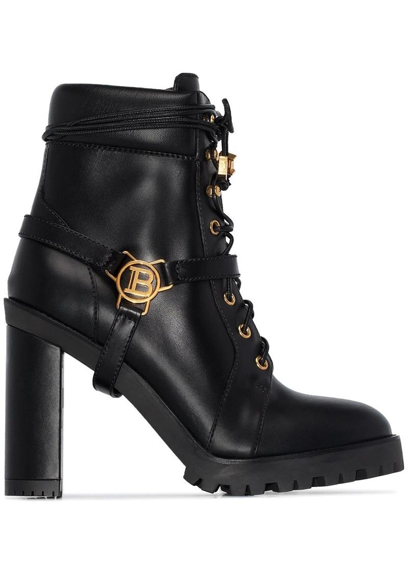Balmain Ranger 120mm ankle boots