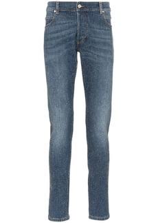 Balmain rhinestone embellished skinny jeans