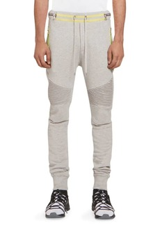 Balmain Rib-Knit Sweatpants