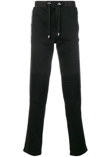 Balmain ribbed drawstring trousers