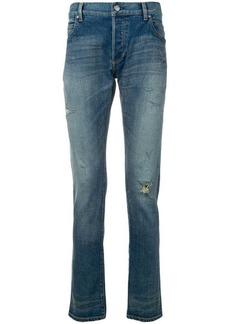 Balmain ripped jeans