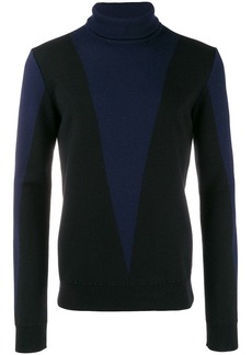 Balmain roll neck knit sweater