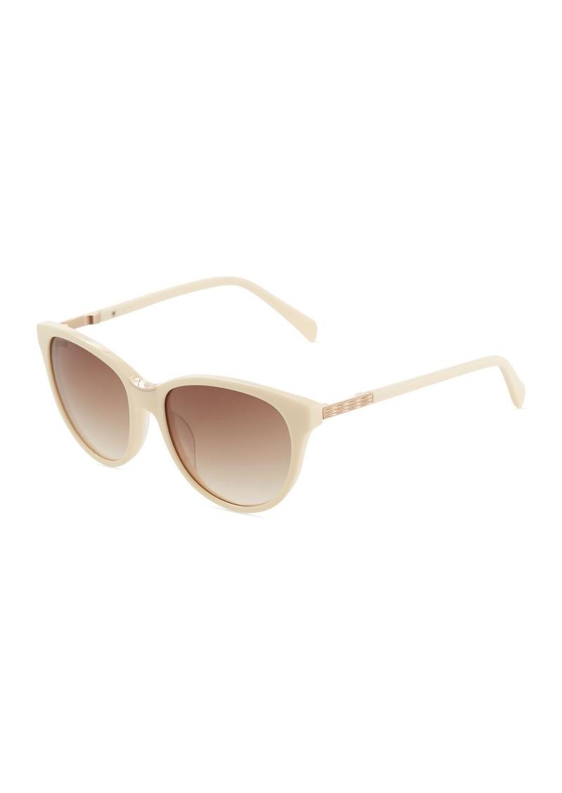 8418fea07222 Balmain Round Acetate Sunglasses