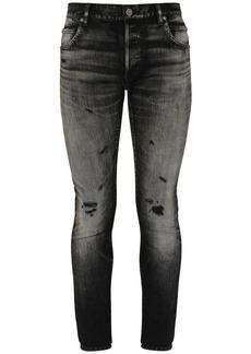 Balmain Selvedge Skinny Cotton Denim Jeans