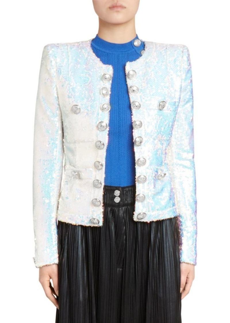 64993b1a Balmain Sequin Blazer Jacket | Outerwear