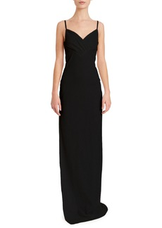 Balmain Sequin Chain Strap Gown