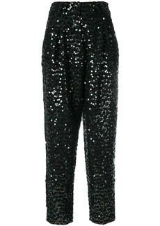 Balmain sequin embellished trousers