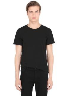 Balmain Set Of 3 Cotton Jersey T-shirts