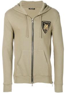 Balmain shield zipped jacket