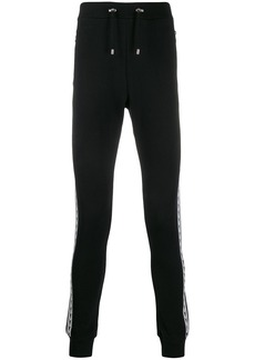 Balmain side panel track pants