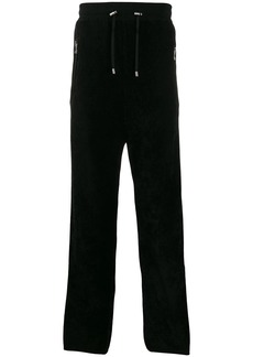 Balmain side panelled track pants