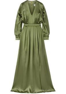Balmain Silk-satin Gown